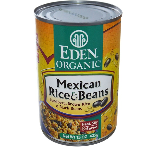 Eden Foods, Organic, Mexican Rice & Beans, 15 oz (425 g) (Discontinued Item)