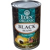 Eden Foods, Organic, Black Beans, 15 oz (425 g) (Discontinued Item)