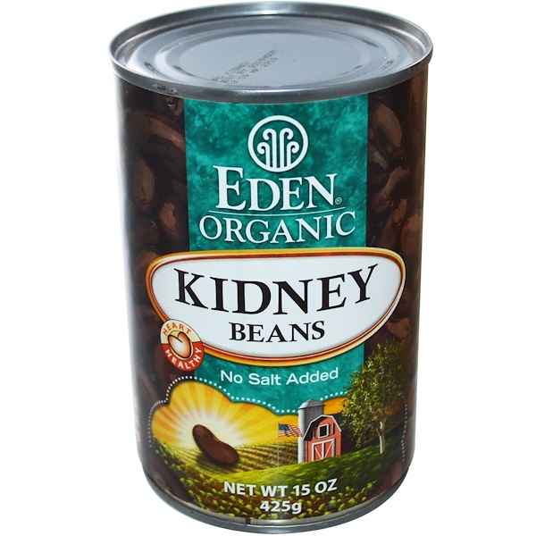 Eden Foods, Organic Kidney Beans, 15 oz (425 g) (Discontinued Item)