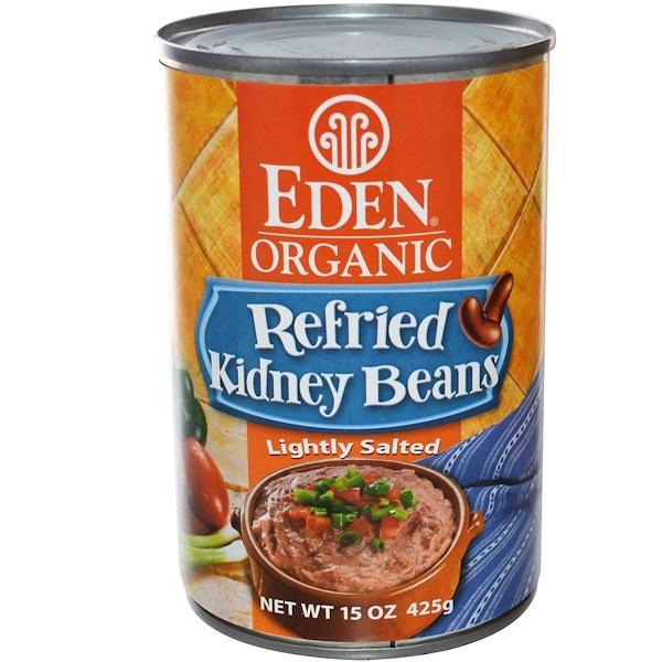 Eden Foods, Organic Refried Kidney Beans, 15 oz (425 g) (Discontinued Item)