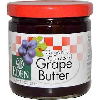 Eden Foods, Organic Concord Grape Butter, 8 oz (227 g)