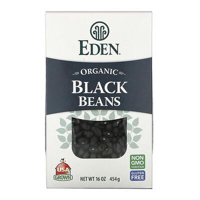 Eden Foods Органическая черная фасоль, 16 унций (454 г)