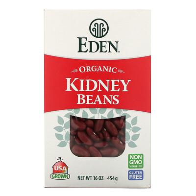 Eden Foods Органическая, красная фасоль, 16 унций (454 гр)