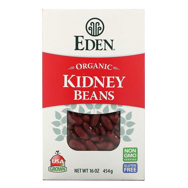 Organic, Kidney Beans, 16 oz (454 g)
