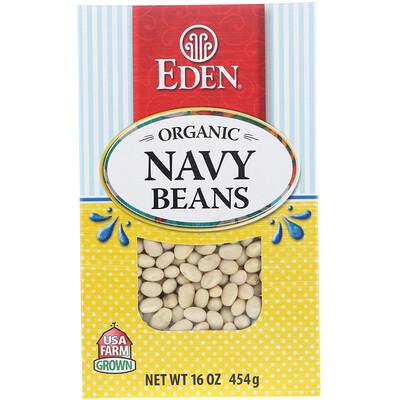 Купить Organic Navy Beans, 16 oz (454 g)
