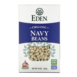 Эдэн Фудс, Organic Navy Beans, 16 oz (454 g) отзывы покупателей