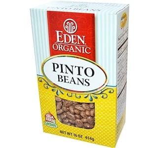 Эдэн Фудс, Organic Pinto Beans, 16 oz (454 g) отзывы