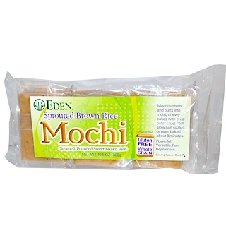 Eden Foods, Sprouted Brown Rice, Mochi, 10.5 oz (300 g)