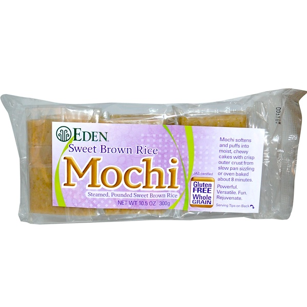 Eden Foods, Mochi, Sweet Brown Rice, 10.5 oz (300 g) (Discontinued Item)