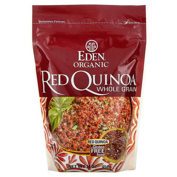 오가닉 레드 퀴노아, 통곡물, 16 oz (454 g)
