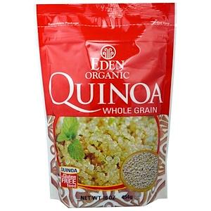Эдэн Фудс, Organic, Quinoa Whole Grain, 16 oz (454 g) отзывы покупателей