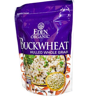 Eden Foods, Organic, Buckwheat, Hulled Whole Grain, 16 oz (454 g)