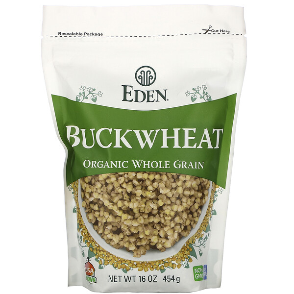 Buckwheat, Organic Whole Grain, 16 oz (454 g)