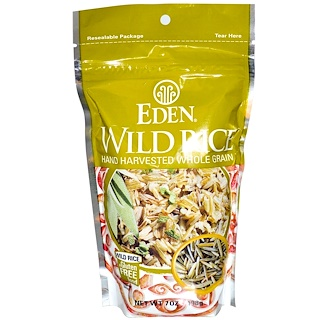 Eden Foods, Wild Rice, 7 oz (198 g)