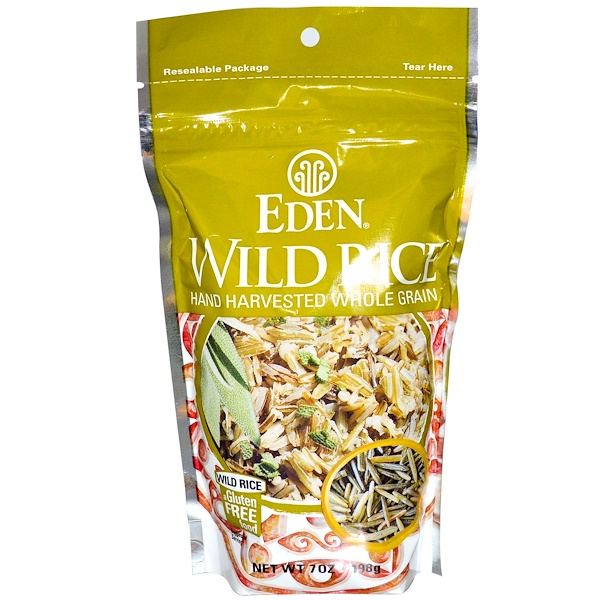 Eden Foods, Wild Rice, 7 oz (198 g) (Discontinued Item)