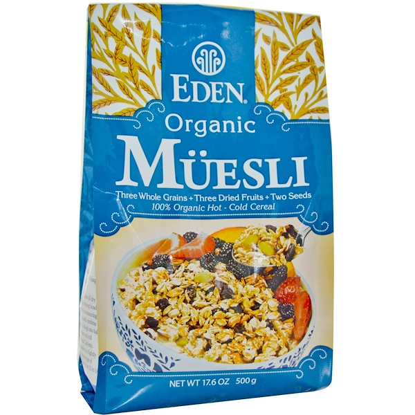 Eden Foods, Organic Muesli, 17.6 oz (500 g) (Discontinued Item)