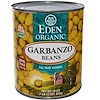 Eden Foods, Organic, Garbanzo Beans, 29 oz (822 g) (Discontinued Item)