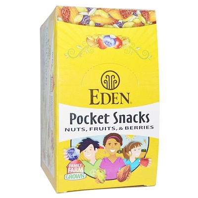 Фото - Organic, Pocket snacks, тыквенные семечки, сухие жареные, 12 пакетиков, 1 унция (28,3 г) каждый семечки тыквенные семушка жареные соленые 160 г