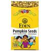 Eden Foods, 포켓 스낵, 유기농 호박씨, 기름 없이 볶은 제품, 12팩, 팩당 28.3g(1oz)