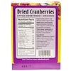 Eden Foods, Pocket Snacks, Organic Dried Cranberries, 12 Packages, 1 oz (28.3 g) Each (Discontinued Item)