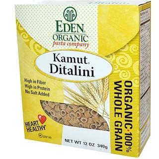 Eden Foods, Organic Kamut Ditalini, 12 oz (340 g)