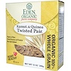 Eden Foods, Organic Pasta Company, Kamut & Quinoa, Twisted Pair, 12 oz (340 g)