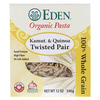 Eden Foods, Organic Pasta, Kamut & Quinoa Twisted Pair, 12 oz (340 g)
