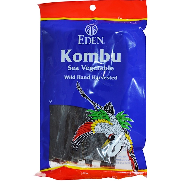Kombu, Sea Vegetable, 2.1 oz (60 g)