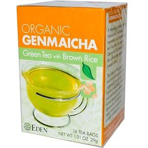Эдэн Фудс, Organic Genmaicha, Green Tea with Brown Rice, 16 Tea Bags 1.01 oz (29 g) отзывы