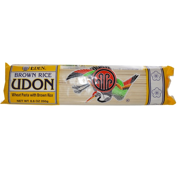 Eden Foods, Коричневый рис удон, 8,8 унции (250 г) (Discontinued Item)