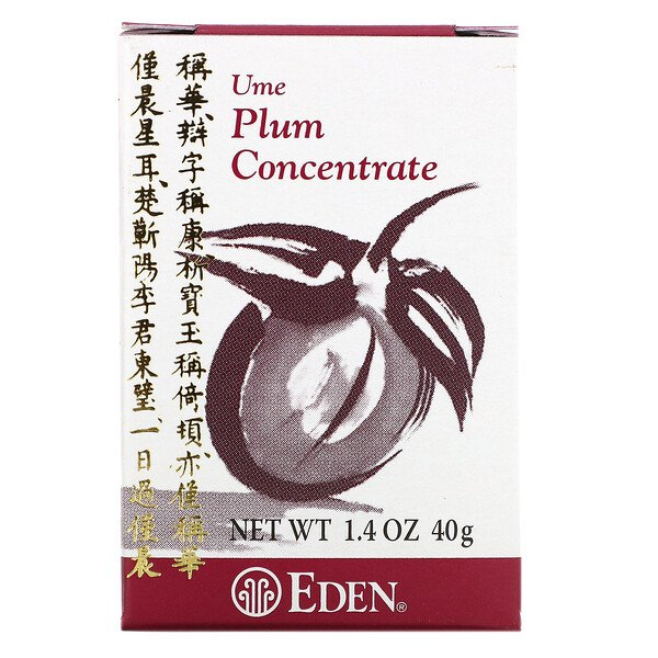 Eden Foods, Ume Plum Concentrate, 1.4 oz (40 g)