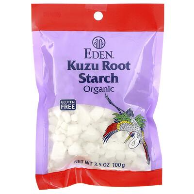 Купить Eden Foods Органический крахмал из корня кузу, 3, 5 унции (100 г)