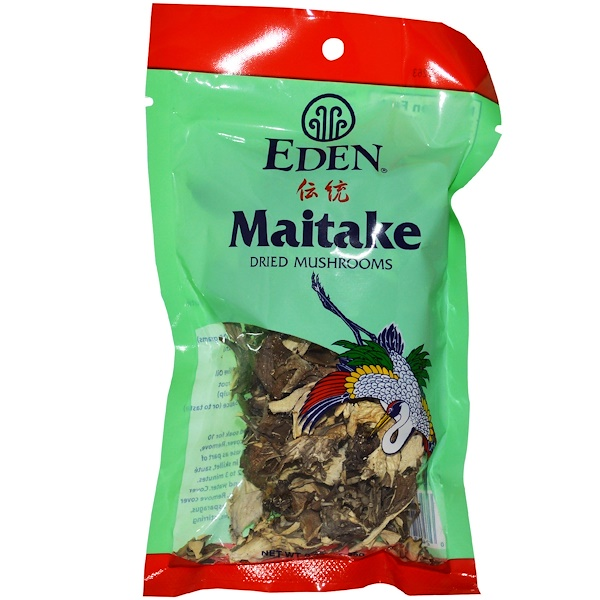 Eden Foods, Maitake Dried Mushrooms, 0.88 oz (25 g) (Discontinued Item)