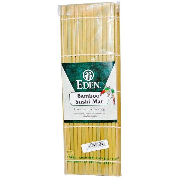 Eden Foods, Bamboo Sushi Mat, 1 Mat (Discontinued Item)