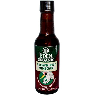 Eden Foods, Organic Brown Rice Vinegar, 5 fl oz (148 ml)