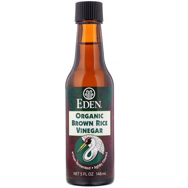 Eden Foods, Organic Brown Rice Vinegar, 5 fl oz (148 ml) (Discontinued Item)