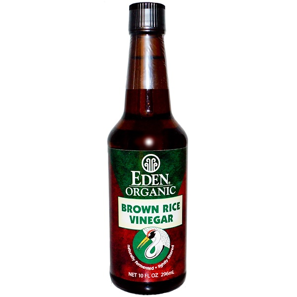 Eden Foods, Organic, Brown Rice Vinegar, 10 fl oz (296 ml)
