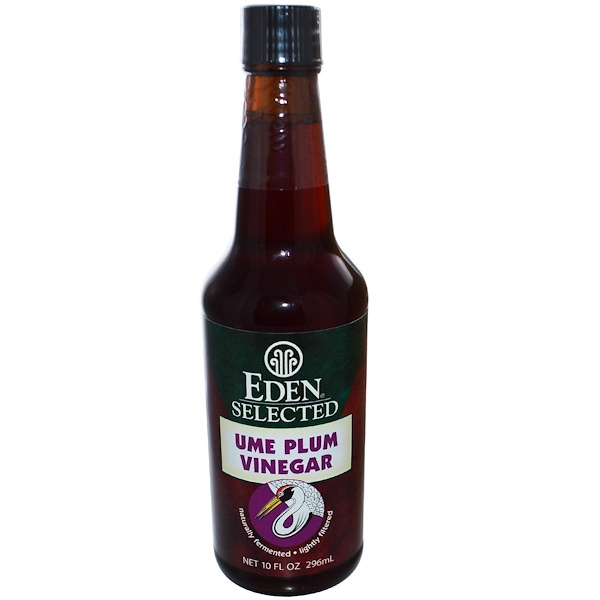 Eden Foods, Selected, Ume Plum Vinegar, 10 fl oz (296 ml) (Discontinued Item)