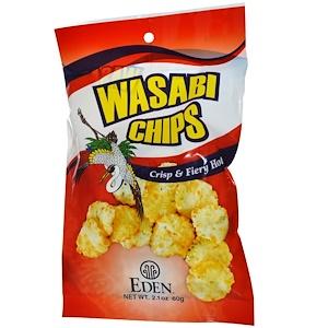 Эдэн Фудс, Wasabi Chips, 2.1 oz (60 g) отзывы