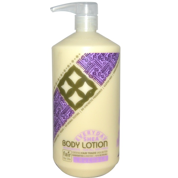 Alaffia, Body Lotion, Lavender, 32 fl oz (950 ml)