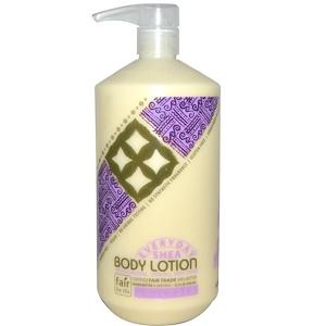 Алаффия, Everyday Shea,  Body Lotion, Lavender, 32 fl oz (950 ml) отзывы покупателей