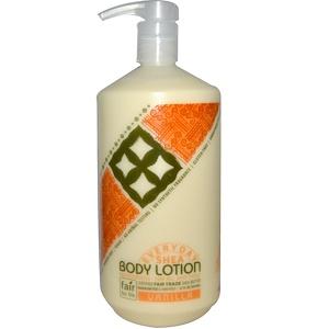 Эвридэй Ши, Moisturizing Body Lotion, Vanilla, 32 fl oz (950 ml) отзывы