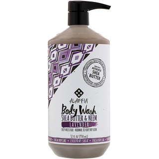 Everyday Shea, Body Wash, Lavender, 32 fl oz (950 ml)