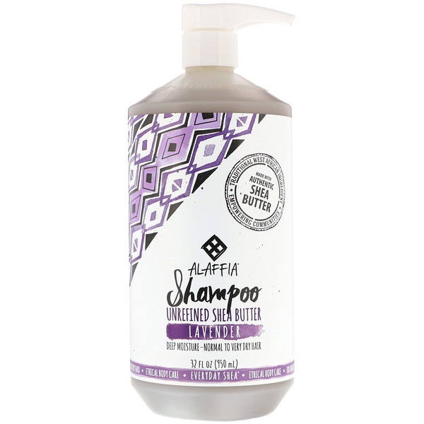Alaffia, Shampoo, Lavender, 32 fl oz (950 ml) (Discontinued Item)