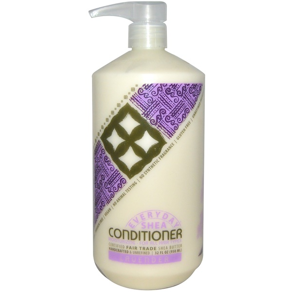 Everyday Shea, Moisturizing Conditioner, Lavender, 32 fl oz (950 ml) (Discontinued Item)