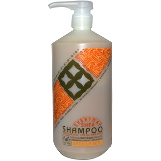 Everyday Shea, Shampoo, Vanilla Mint, 32 fl oz (950 ml)