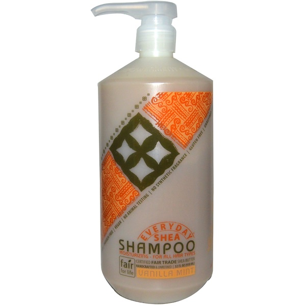 Everyday Shea, Shampoo, Vanilla Mint, 32 fl oz (950 ml)