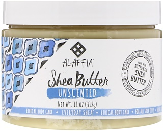 Everyday Shea, Shea-Butter, ohne Duftstoffe, 11 Oz (312 g)