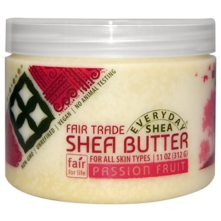 Everyday Shea, Shea Butter, Passion Fruit, 11 oz (312 g)