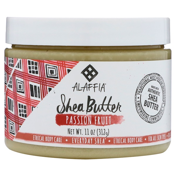 :Everyday Shea, Shea Butter, Passion Fruit, 11 oz (312 g)